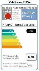 Etiquette certification Eu.BAC