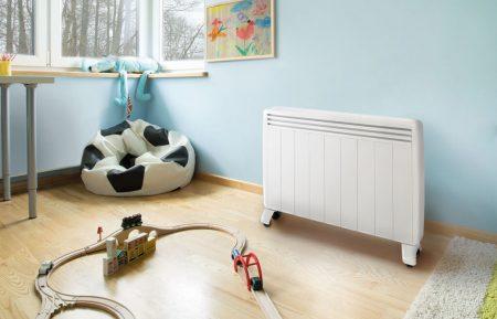 chambre enfant - radiateur mobile - aterno