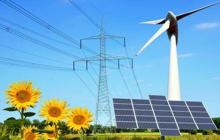 Electricité éolienne et photovoltaïque