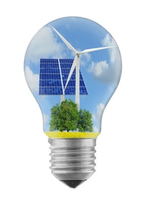 energies renouvelable contre dioxyde de carbone