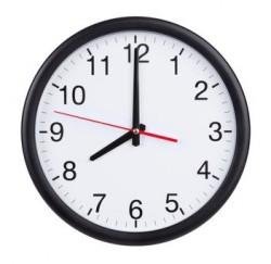 Horloge et changement d'heure