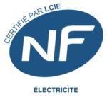 Logo NF électricité.
