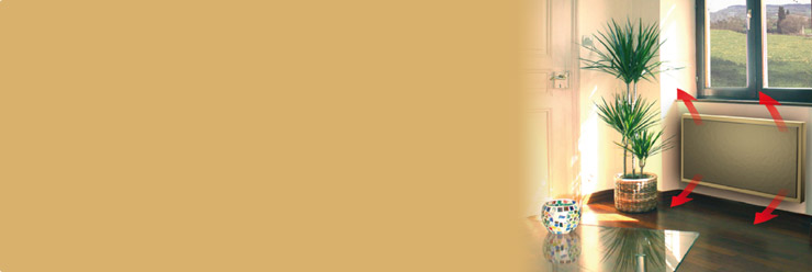panneau rayonnant radiateur rayonnant aterno. Black Bedroom Furniture Sets. Home Design Ideas