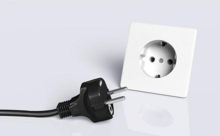 electricit prise lectrique et point d 39 eau aterno. Black Bedroom Furniture Sets. Home Design Ideas