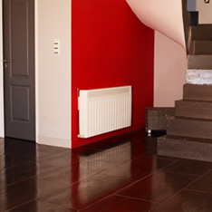 chauffage electrique montee escalier aterno