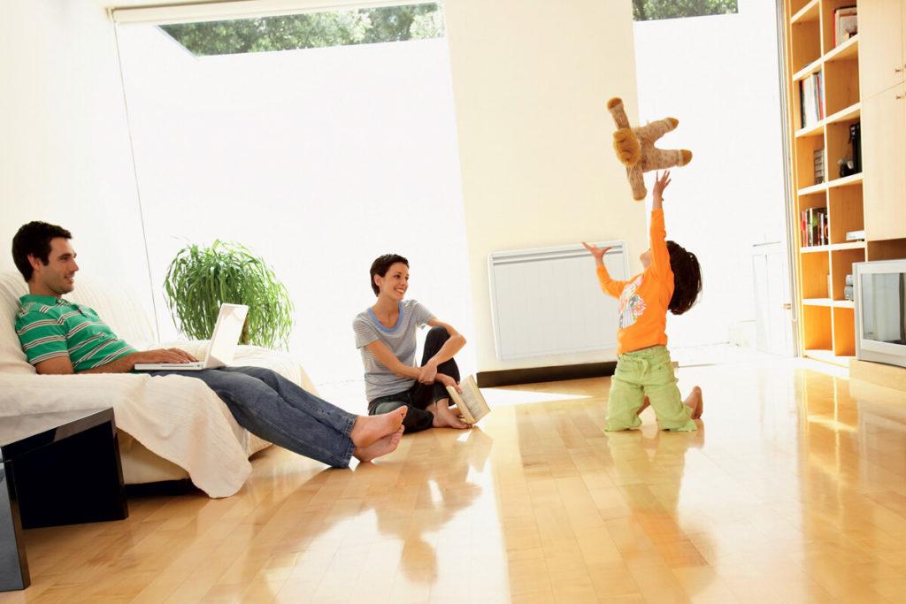 pr servez la qualit de l 39 air int rieur avec un chauffage lectrique de derni re g n ration. Black Bedroom Furniture Sets. Home Design Ideas