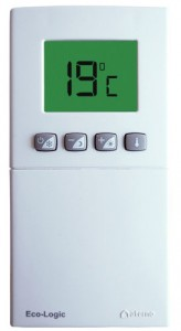 Thermostat d 39 ambiance sans fil programmable aterno - Thermostat d ambiance programmable sans fil ...